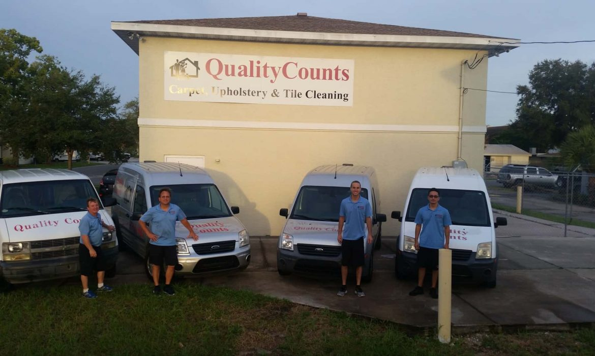 Quality Counts Cleaning Entire Staff